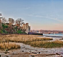 Upnor Castle From The Foreshore by Dave Godden