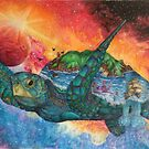 Cosmic Swimmer by Maddy Storm