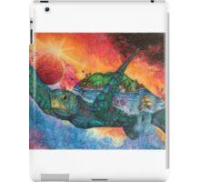 Cosmic Swimmer iPad Case/Skin