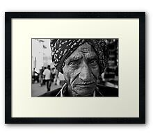 Portrait vii Framed Print