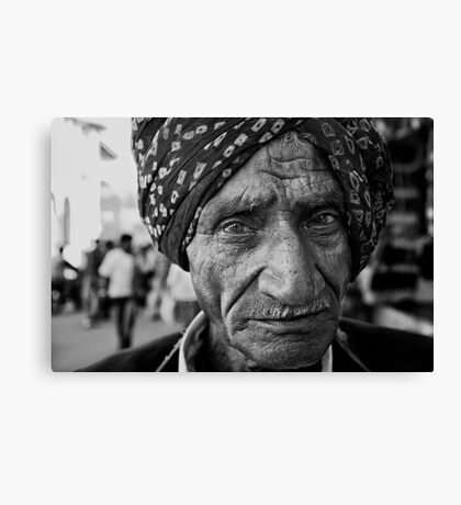Portrait vii Canvas Print