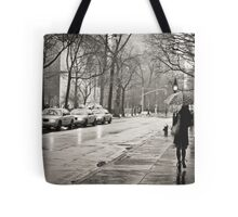 Rainy Day - Greenwich Village - New York City  Tote Bag