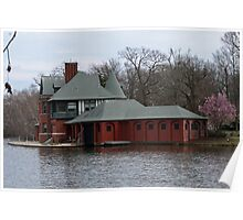 Boathouse at Roger Williams Park Poster