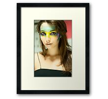 Mask 1 Framed Print