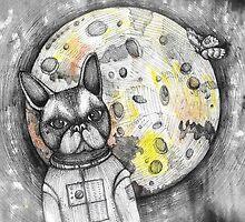 Boston Moon by melaniedann