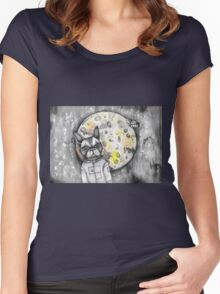 Boston Moon Women's Fitted Scoop T-Shirt