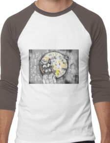 Boston Moon Men's Baseball ¾ T-Shirt