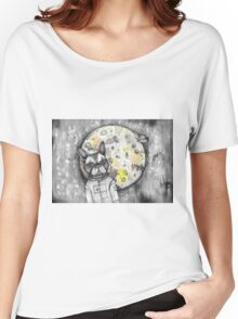 Boston Moon Women's Relaxed Fit T-Shirt