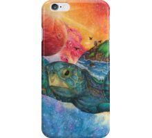 Cosmic Swimmer iPhone Case/Skin