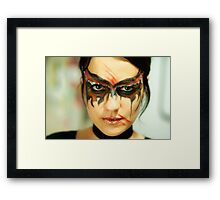 Mask 5 Framed Print