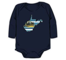 West Virginia: Rafting Country One Piece - Long Sleeve