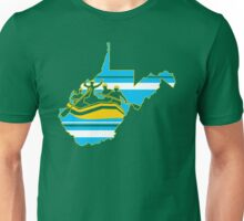 West Virginia: Rafting Country Unisex T-Shirt