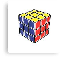 Cube Puzzle Canvas Print