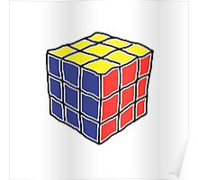Cube Puzzle Poster