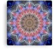 SpiroGraphish Kaleidoscope Canvas Print