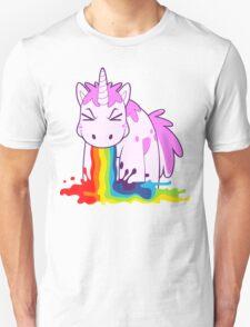 Unicorn 'I Puke Rainbows!' Unisex T-Shirt