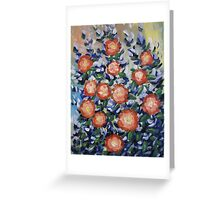 English Garden Greeting Card
