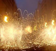 Sparks flying by PaulDizz