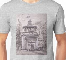 Pavilion in Chinese style Unisex T-Shirt