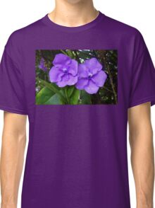 Brunfelsia flower (Yesterday, Today and Tomorrow) Classic T-Shirt