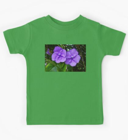 Brunfelsia flower (Yesterday, Today and Tomorrow) Kids Tee