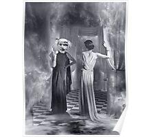 Stelarc Smoking. Poster