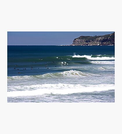 Rights of Merewether Beach Photographic Print