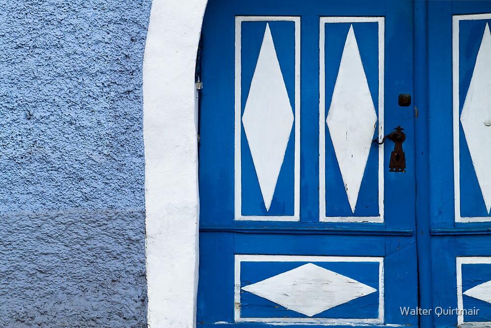 Rustic Old Door by Walter Quirtmair