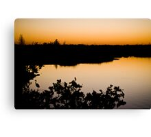 sunset part 1 Canvas Print