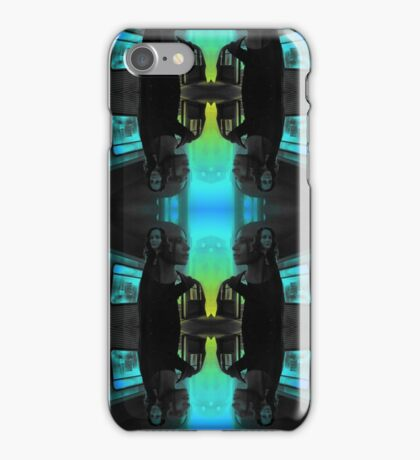 Root & Shaw POI 'Not-So-Noir' Tile iPhone Case/Skin
