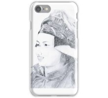 Nepalese Woman iPhone Case/Skin