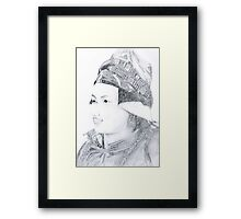 Nepalese Woman Framed Print