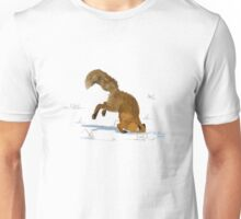Red Fox Digging in the Snow Unisex T-Shirt