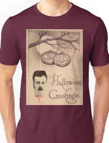 Just Hanging Around (Vintage Halloween Card) Unisex T-Shirt