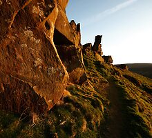 Wainstones - evening by PaulBradley