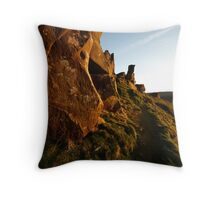 Wainstones - evening Throw Pillow