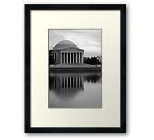The Jefferson Memorial Framed Print