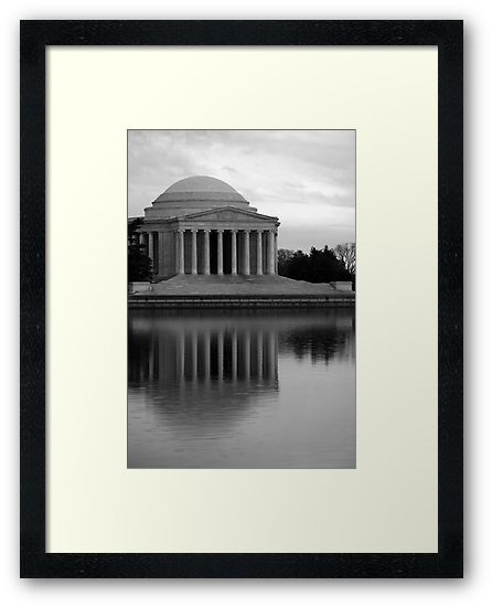 The Jefferson Memorial by Cora Wandel