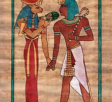 Sekhmet blesses Seti by Aakheperure