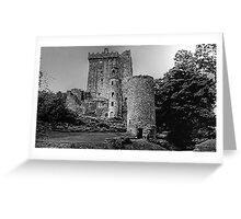 BLARNEY CASTLE,   COUNTY CORK,  IRELAND............! Greeting Card