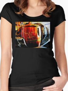 Hops & Barley- Drink Your Vegetables Women's Fitted Scoop T-Shirt