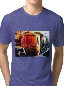 Hops & Barley make you awesome one gulp at a time Tri-blend T-Shirt