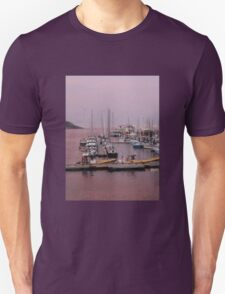 Purple Sunset Tadoussac Harbour Unisex T-Shirt