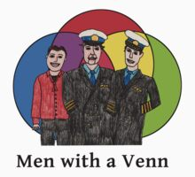 Cabin Pressure - Men with a Venn by BiancaIcaras