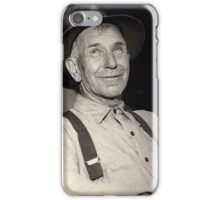 Man with Hat iPhone Case/Skin