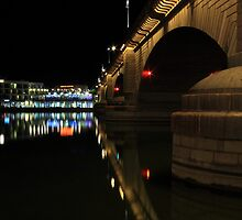 Reflections At London Bridge by James Eddy