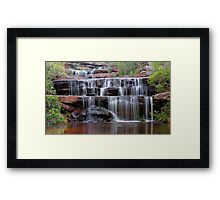 Falls of the Bush Framed Print