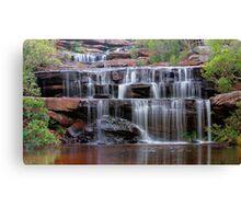 Falls of the Bush Canvas Print