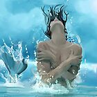Jumping Mermaid by John Ryan