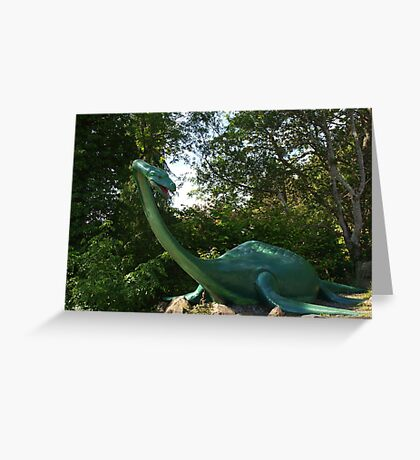 Loch Ness Creature Greeting Card